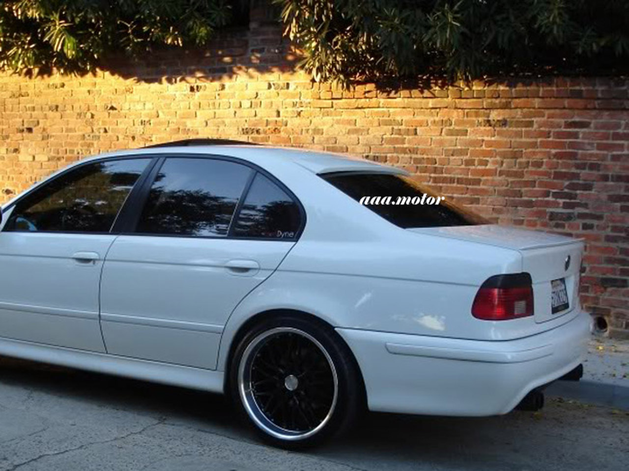 bmw e39 roof spoiler a type 5 series saloon 1997 2003 ebay