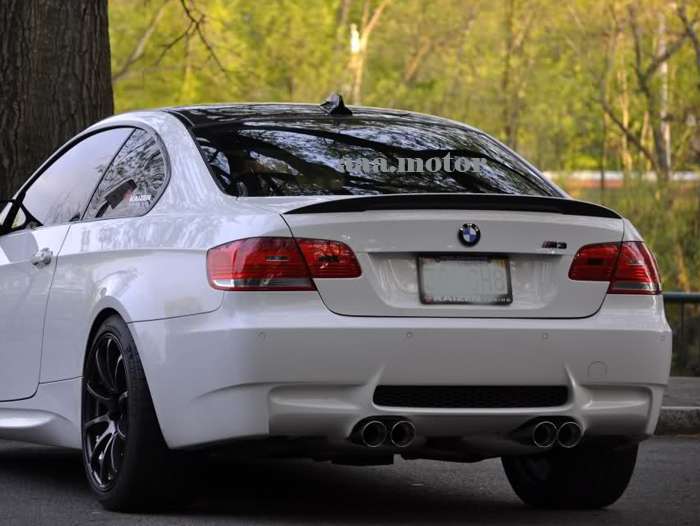 rear trunk spoiler for bmw e92 performance type 325i 328i. Black Bedroom Furniture Sets. Home Design Ideas