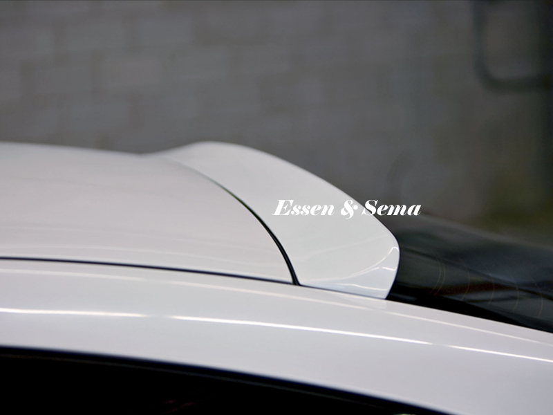 Painted Process Roof Spoiler For Lexus Gs300 Gs400 1998